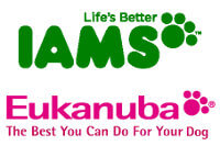 Eukanuba & Iams pet food brand logo