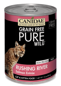 CANIDAE Cat Food: Grain Free Pure Wild Wet Food with Salmon