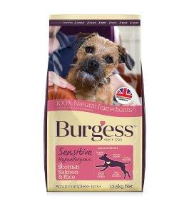 Best Burgess Sensitive Dry Dog Food